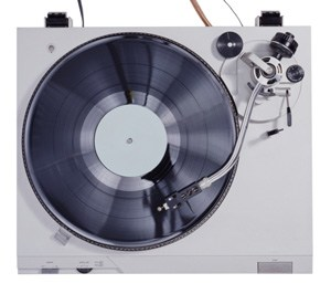A Journal of Musical Things vinyl record player