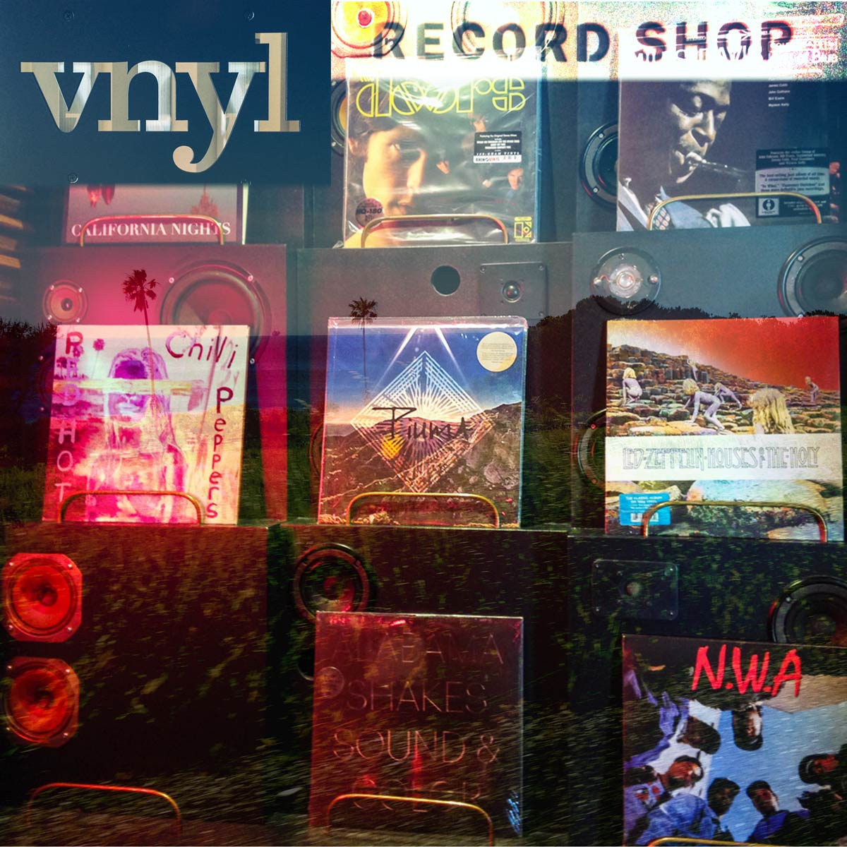 Piuma at the VNYL Record Shop at The Goodland in Santa Barbara